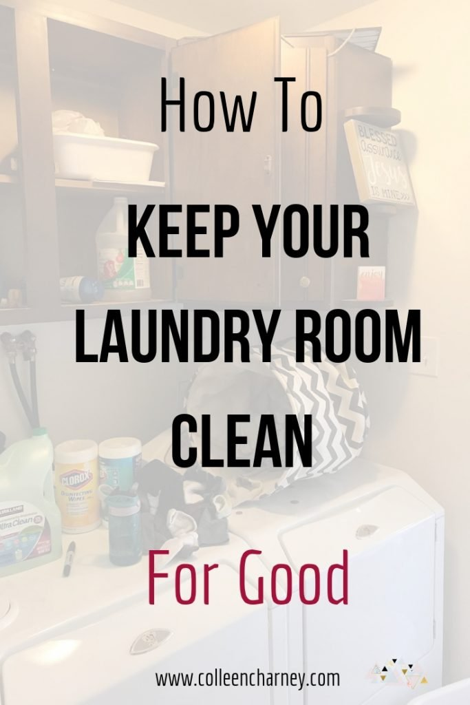 Tips To Declutter And Organize A Tiny Laundry Room