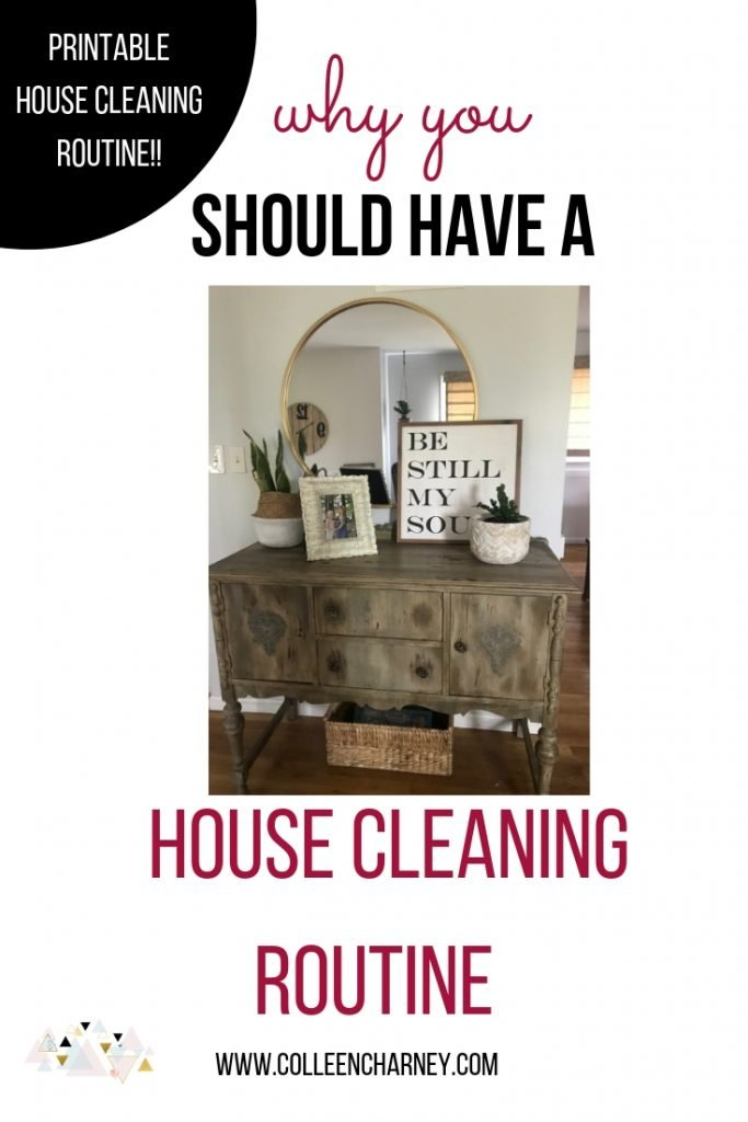 Why Establishing A House Cleaning Routine Is A Game Changer