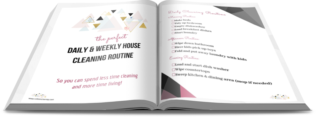 The Perfect Daily & Weekly House Cleaning Routine