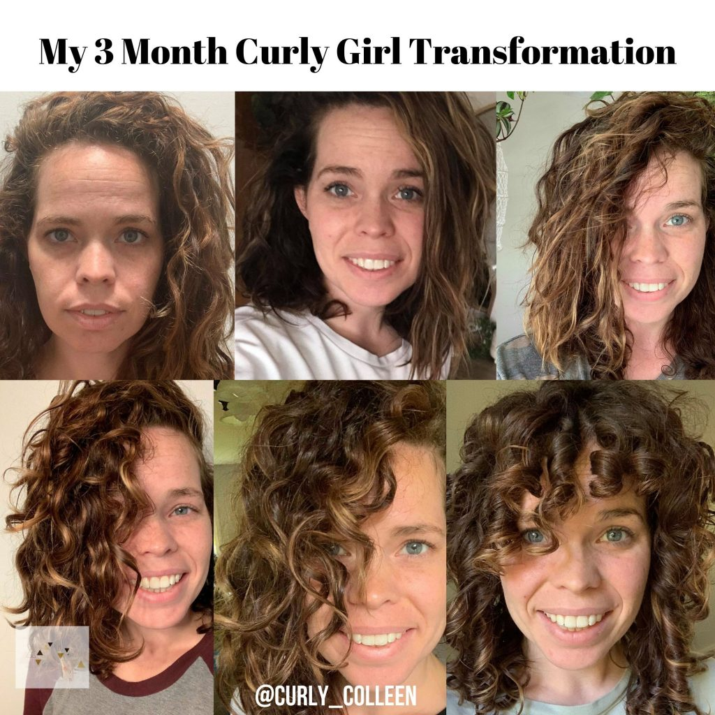 3 month curly journey