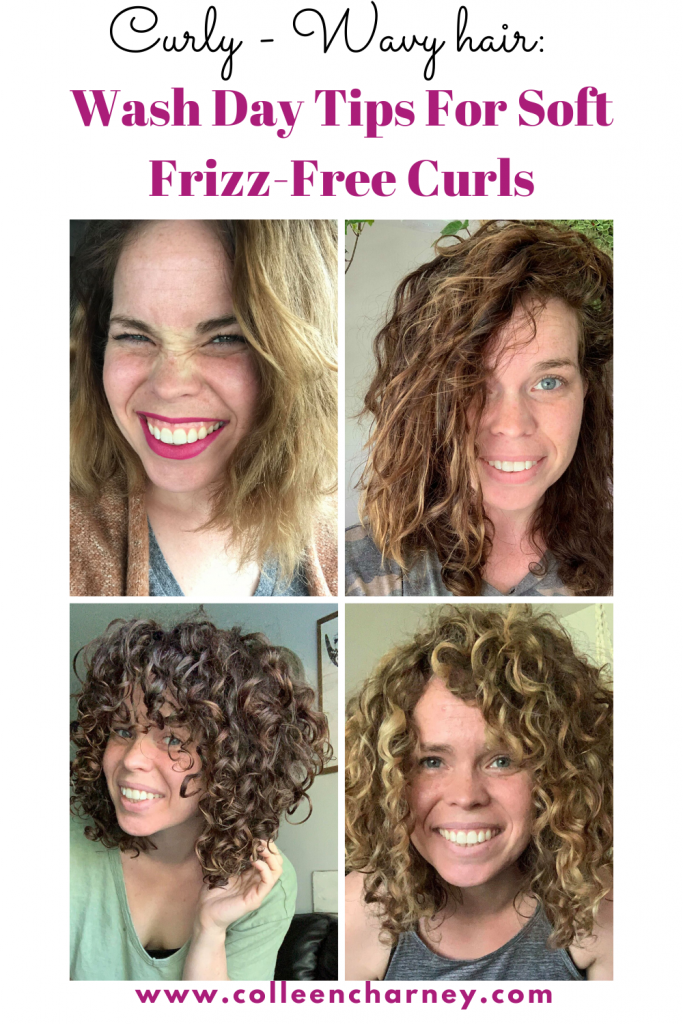 Curly/Wavy Hair: Wash Day Tips For Soft Frizz-Free Curls