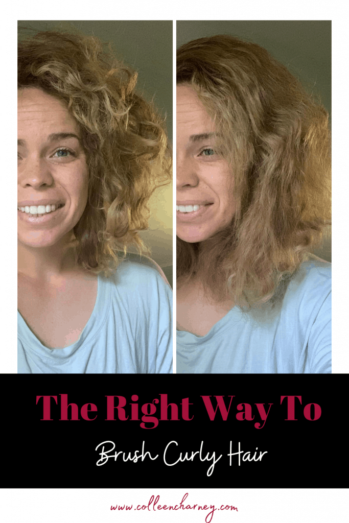 Brush Curly Hair