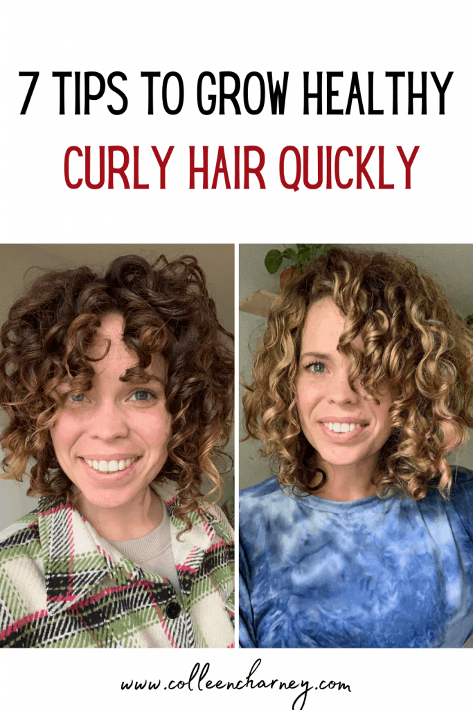 7 Tips To Grow Healthy Curly Hair Quickly